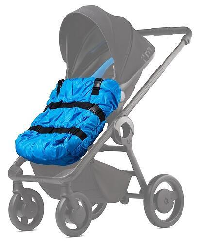 Накидка на ножки Anex для коляски Quant Blue (3)