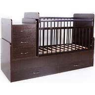 Кровать-трансформер детская Bambini M 01 10 01 Темный орех