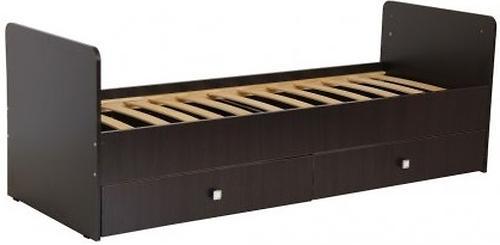 Кровать-трансформер детская Bambini M 01 10 01 Темный орех (5)