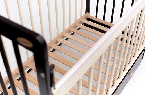 Кровать детская Bambini Евро стиль M 01.10.03 Слоновая кость (5)