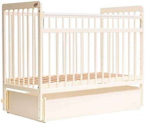 Кровать детская Bambini Евро стиль M 01.10.04 Слоновая кость (4)