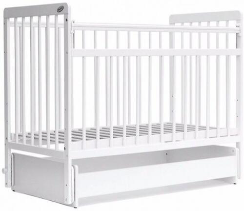 Кровать детская Bambini Евро стиль M 01.10.05 Белый (4)