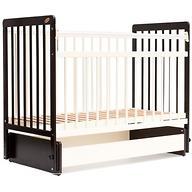Кровать детская Bambini Евро стиль M 01.10.05 Темный орех+Слоновая кость