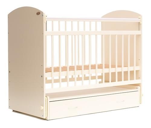 Кровать детская Bambini Элеганс M 01.10.07 Слоновая кость (1)