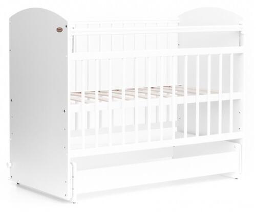 Кровать детская Bambini Элеганс М 01.10.08 Белый (1)