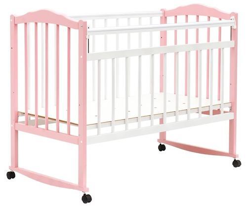 Кровать детская Bambini Классик М 01.10.09 Бело-Розовый (1)