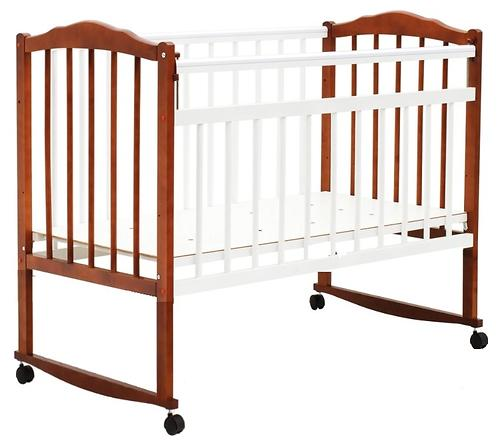 Кровать детская Bambini Классик М 01.10.09 Светлый орех+Белый (1)
