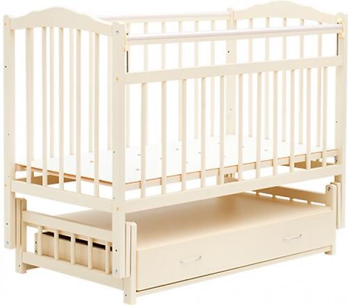 Кровать детская Bambini Классик M 01.10.10 Слоновая кость (1)