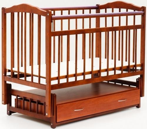 Кровать детская Bambini Классик M 01.10.10 Светлый орех (1)