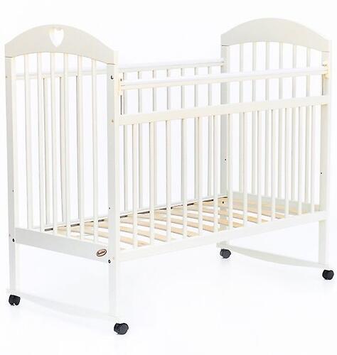 Кровать детская Bambini Комфорт M 01.10.18 Слоновая кость (5)