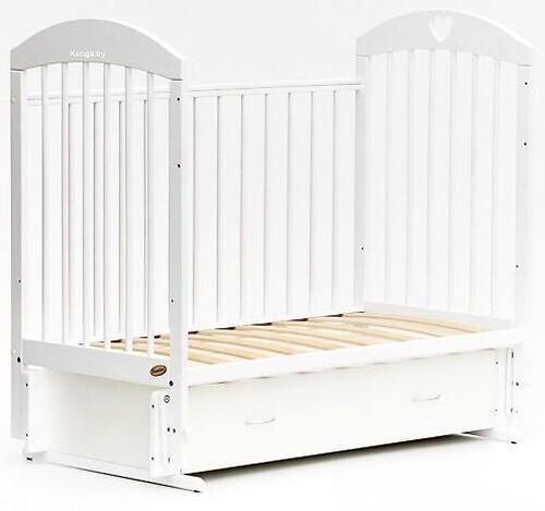 Кровать детская Bambini Комфорт M 01.10.19 Слоновая кость (6)