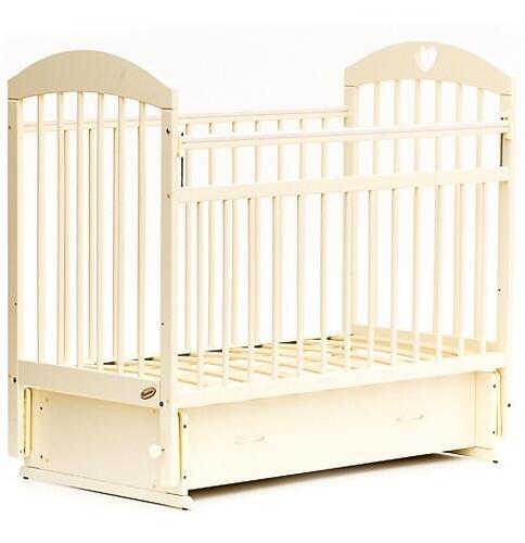 Кровать детская Bambini Комфорт M 01.10.19 Слоновая кость (5)