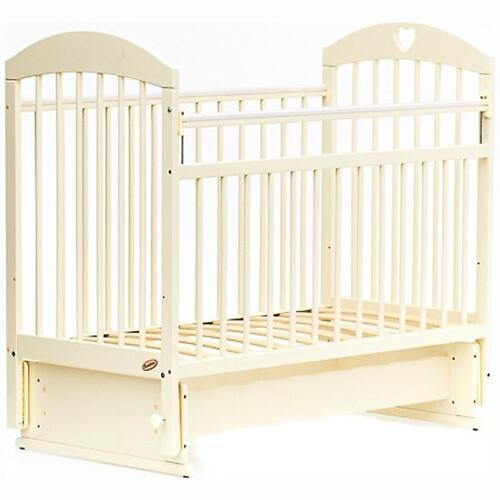 Кровать детская Bambini Комфорт M 01.10.20 Слоновая кость (4)