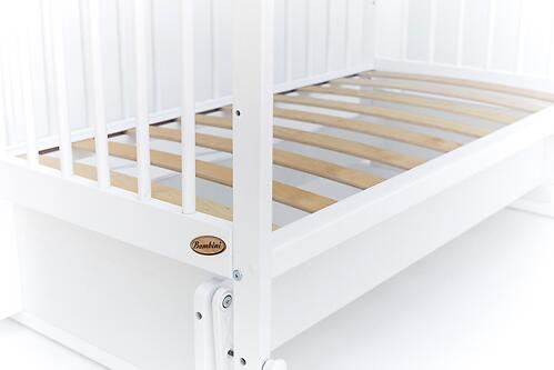 Кровать детская Bambini Комфорт M 01.10.20 Белая (6)
