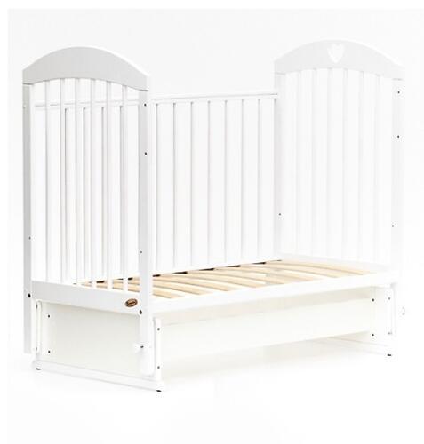 Кровать детская Bambini Комфорт M 01.10.20 Белая (5)