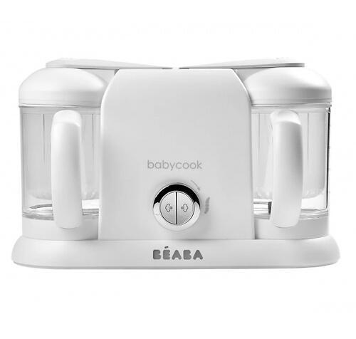 Блендер-пароварка Beaba Babycook Duo White Silve (6)