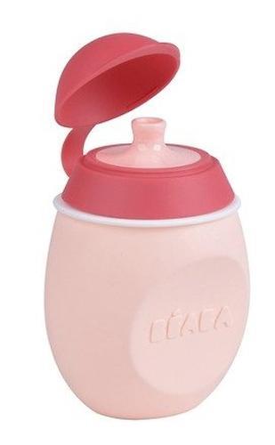 Поильник 2в1 Beaba Babysqueez Pink (9)