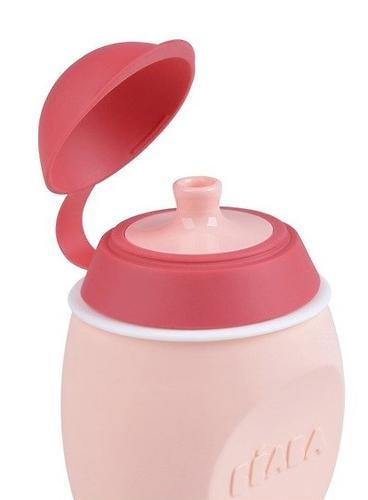 Поильник 2в1 Beaba Babysqueez Pink (10)