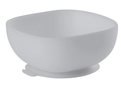 Тарелка Beaba Silicon Suction Bowl Grey (1)