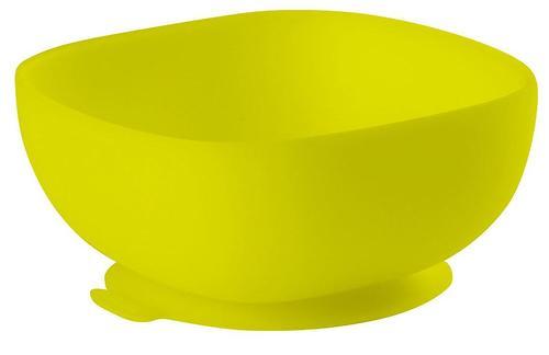 Тарелка Beaba Silicon Suction Bowl Green (1)