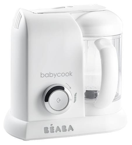 Блендер-пароварка Beaba Babycook Solo White Silver (6)