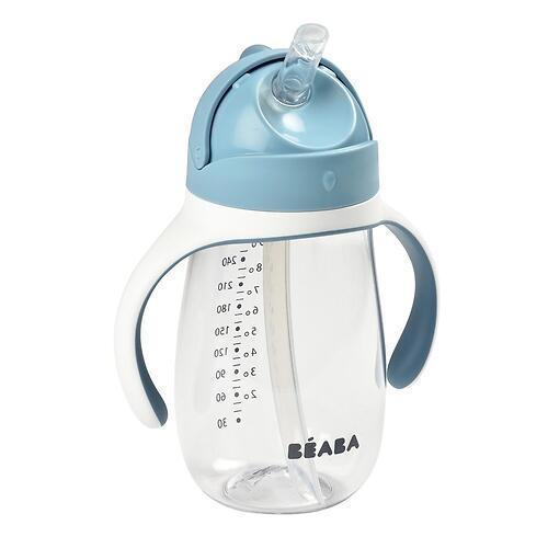 Поильник Beaba 300 ml Straw Cup Windy Blue (5)
