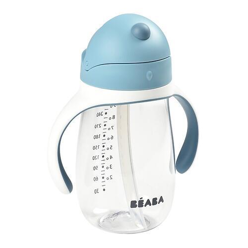 Поильник Beaba 300 ml Straw Cup Windy Blue (7)
