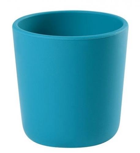 Стакан из силикона Beaba Silicon Glass Blue (1)
