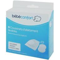 Прокладки Bebe Confort BAMBOO многоразовые для груди 6 шт
