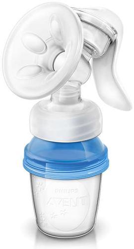 Молокоотсос Avent ручной серия Natural с контейнером (3)