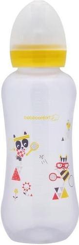 Бутылка Bebe Confort пластиковая 360мл 6-24м узкая Желтая (1)