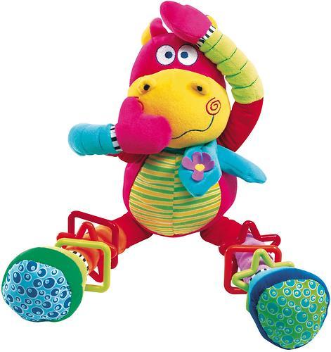 Bebe Confort Игрушка - погремушка CRAZY HIPPO (красный) 3м+ (3)