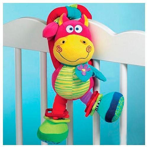 Bebe Confort Игрушка - погремушка CRAZY HIPPO (красный) 3м+ (4)