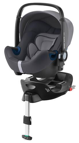 Автокресло Britax Römer Baby-Safe2 I-Size Storm Grey + база Flex (7)
