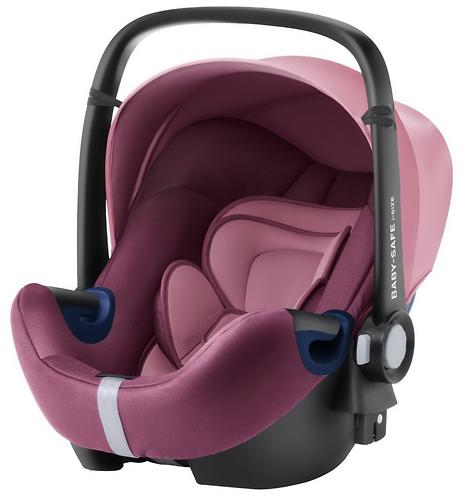 Автокресло Britax Römer Baby-Safe² i-Size + база Flex Wine Rose (4)