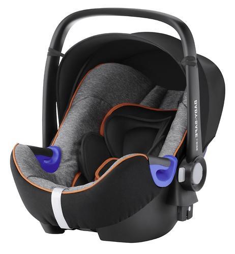 Автокресло Britax Römer Baby-Safe i-Size + база Flex Black Marble (4)