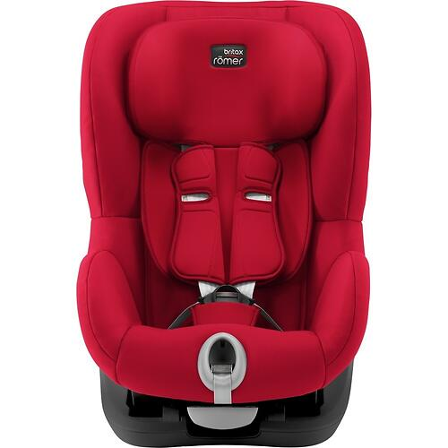 Автокресло Britax Römer King II Black Series Fire Red Trendline (6)