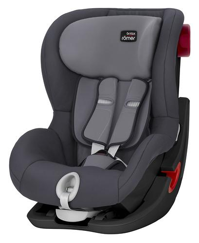 Автокресло Britax Römer King II Black Series Storm Grey Trendline (6)