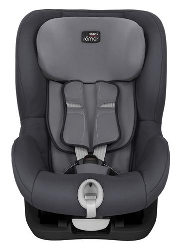 Автокресло Britax Römer King II Black Series Storm Grey Trendline (7)