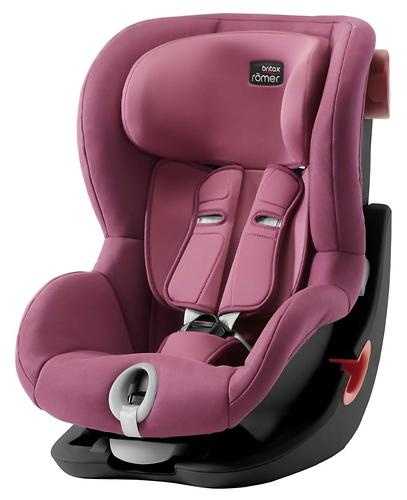 Автокресло Britax Römer King II Black Series Wine Rose Trendline (5)