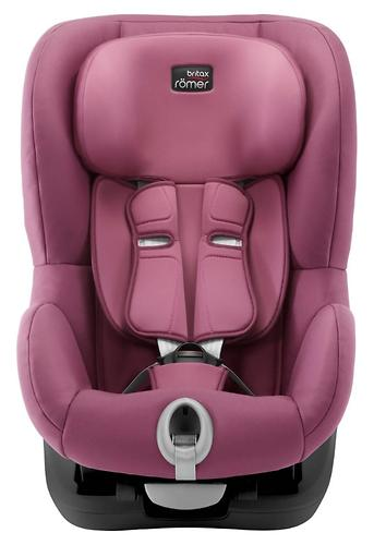 Автокресло Britax Römer King II Black Series Wine Rose Trendline (6)