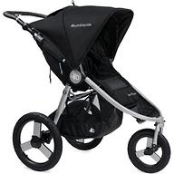 Коляска Bumbleride Speed Silver Black