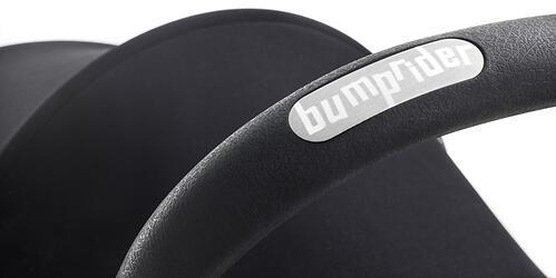 Коляска Bumprider на белой раме Connect Серая (15)