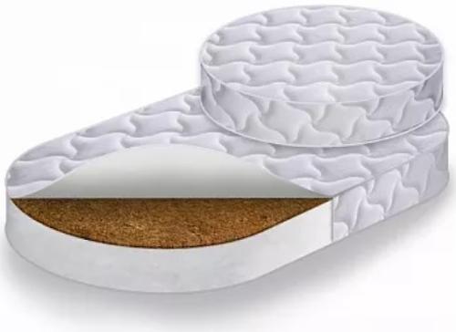 Комплект матрасов Caramelia RingFix в кровать-трансформер Круг+Овал средней степени жёсткости (1)