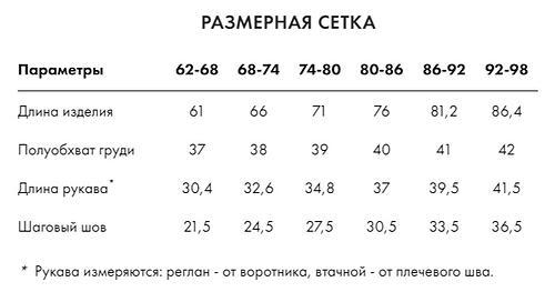 Комбинезон Crockid (ВК 60024/н/9 ГР) (6)