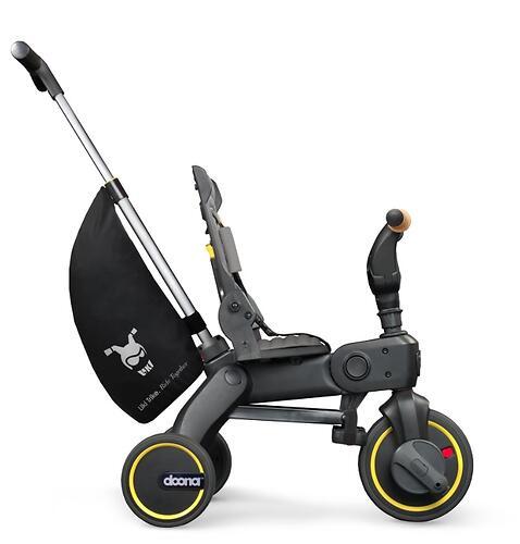 Складной трехколесный велосипед Doona Liki Trike S5 Nitro Black (13)