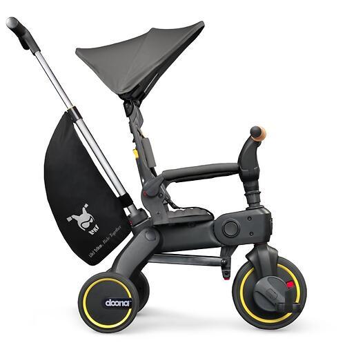Складной трехколесный велосипед Doona Liki Trike S5 Nitro Black (12)