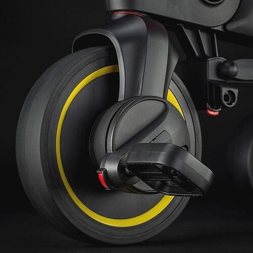 Складной трехколесный велосипед Doona Liki Trike S5 Nitro Black (17)