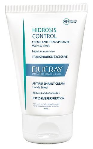 Крем-дезодорант Ducray для ладоней и ступней Hidrosis Control 50 мл (1)