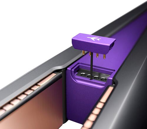 Выпрямитель для волос Dyson Corrale HS03 PRO Черный-Пурпурный (18)